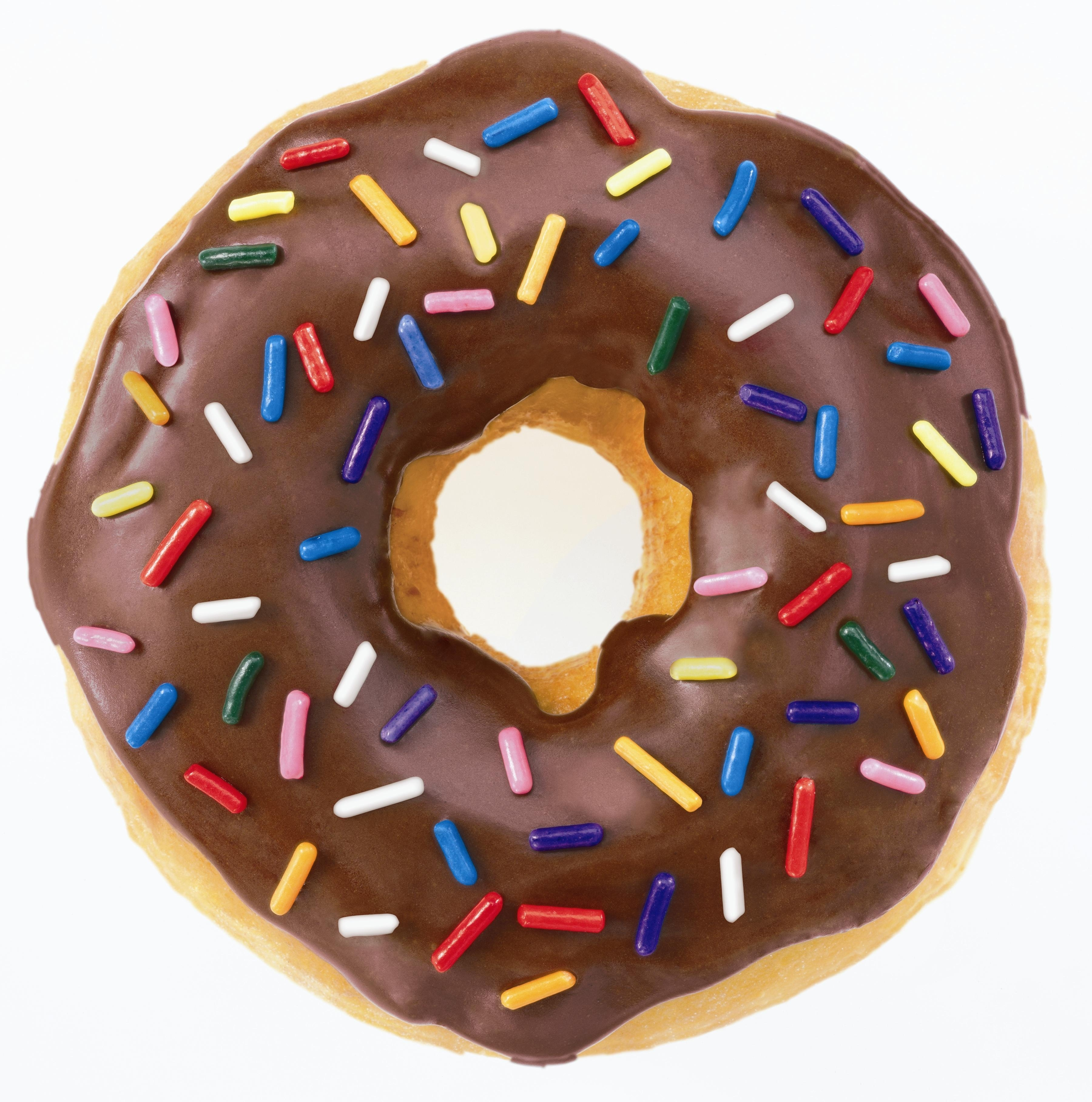 Doughnuts are a well rounded meal