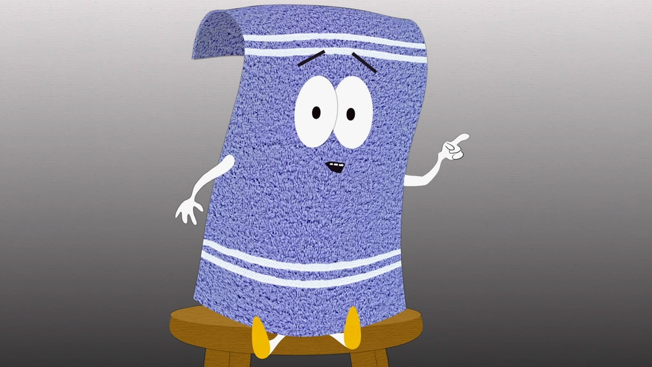 Towelie on chair