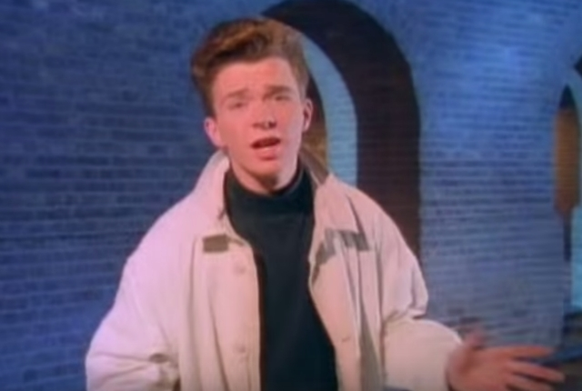 Rick Astley Never Gonna Give a Fuck