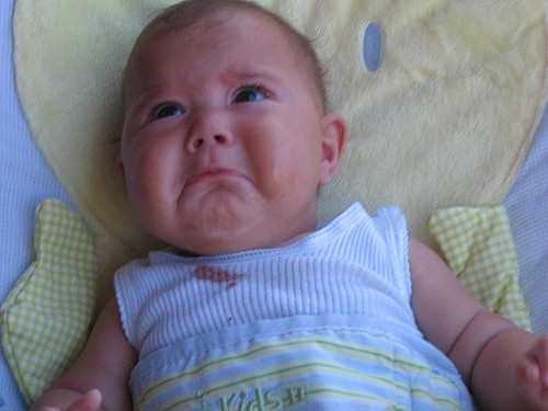 BABY IS MAD