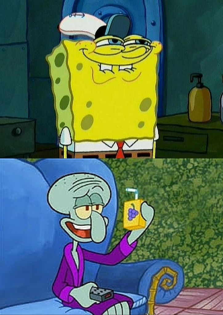 Funny Pictures Of Squidward |Funny Squidward Pictures With Captions