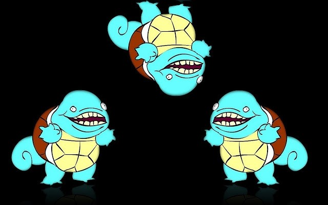 Derpy squirtle squad meme generator - Derpy squirtle ...