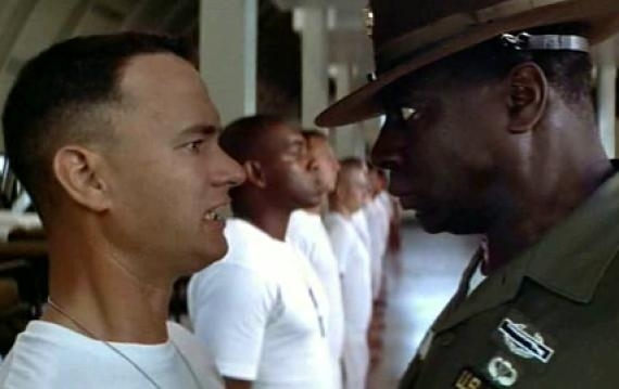 Forrest Gump Drill Sergeant - New images - page 1 | Meme Generator