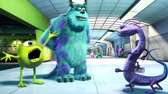 Mike Wazowski She's out of our hair