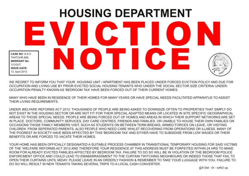 Eviction Notice  Meme Generator