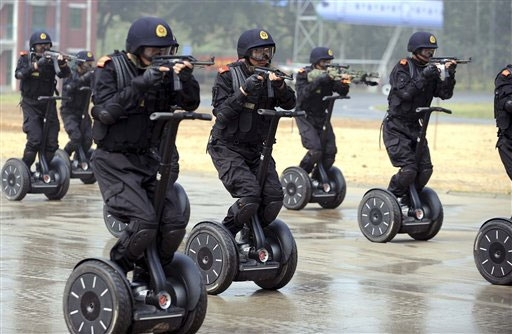 Swat on Segways