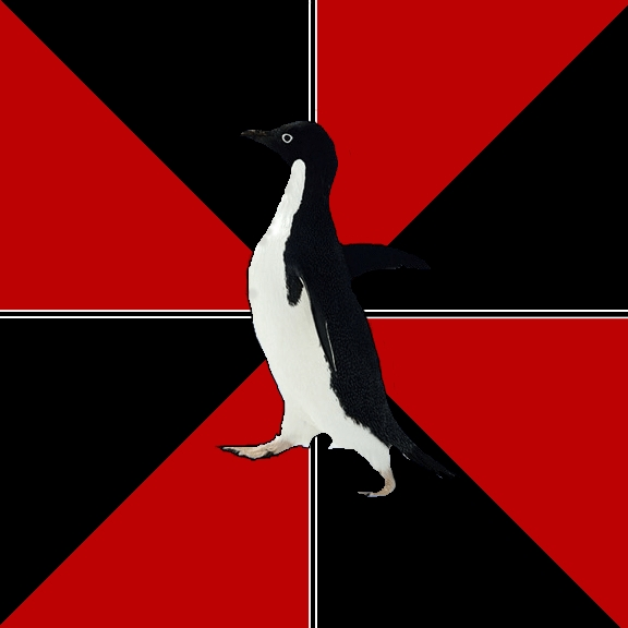 Socially Terrifying Penguin