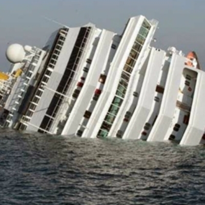Sunk Cruise Ship