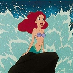 excited ariel