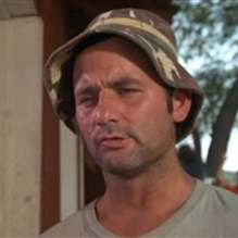 bill murray which is nice