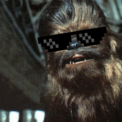 Deal with it Chewbacca