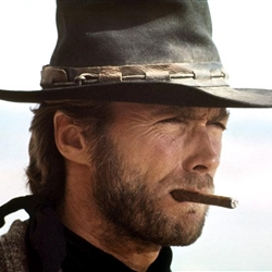 Clint eastwood smoking