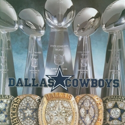 Dallas Cowboys Trophies