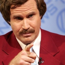Ron Burgundy Stay Classy