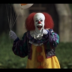 Pennywise the Clown ballon