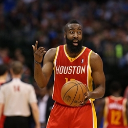 James Harden He's mad