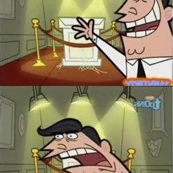 Timmy turner's dad trophy meme