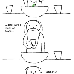when God made me: cuteness