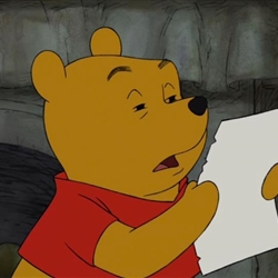 Reading Winnie the Pooh