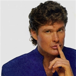 David Hasselhoff has a secret for you