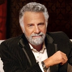 The Most interesting man in the world without the beer