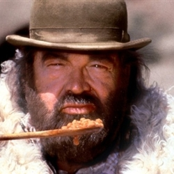 Bud Spencer with beans