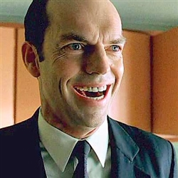 AGENT SMITH LAUGHING