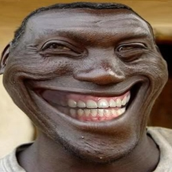 Blacktrollface