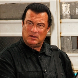 Steven Seagal not amused