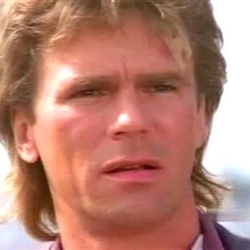 macgyver confused