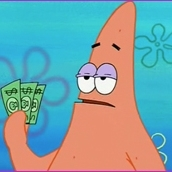 patrick star three dollars