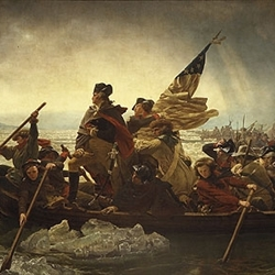 George Washington Crossing The Delaware