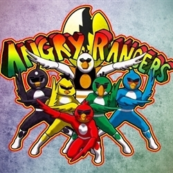 mighty morphin angry rangers