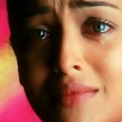 Crying Aishwarya