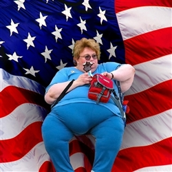 Obese American