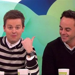 Ant and Dec swap sides