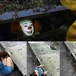 Stephen King IT Clown Sewer