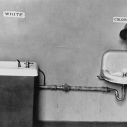 Segregated drinking fountains