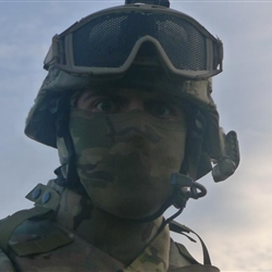 Aghast Soldier Guy