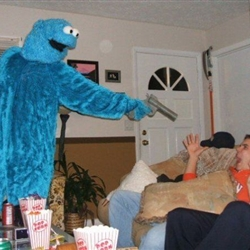 Bad Ass Cookie Monster