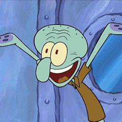 Guess What Squidward