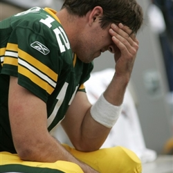 Aaron Rodgers Sad