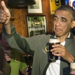 THUMBS UP OBAMA