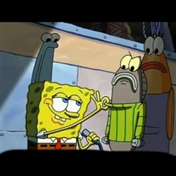 Spongebob sweater