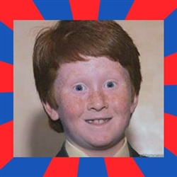 overconfident ginger kid