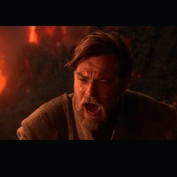 "Obi Wan Kenobi ""You were my brother!"""