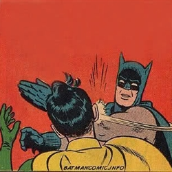 batman slap robin