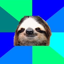 Socially Lazy Sloth