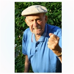 Old Man Shaking FIst