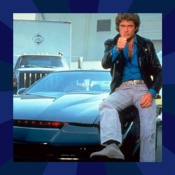 Knight Rider Thumbs Up